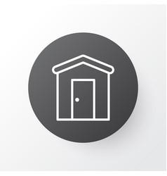 barn icon symbol premium quality isolated vector image vector image