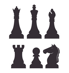 Chess design vector image