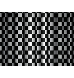Checkered Curtain vector image vector image