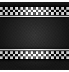 Metallic gray sheet vector image vector image