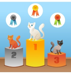Cats winner vector