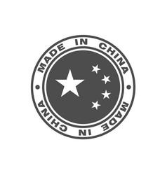 china gray vector image