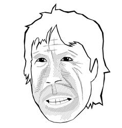 Chuck Norris vector