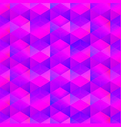 Purple color mosaic seamless pattern vector
