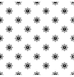 solar energy pattern seamless vector image