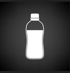 sport bottle of drink icon vector image