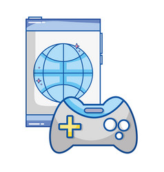 Technology computing cartoon vector