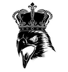 This is an eagle head mascot vector