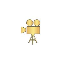 camcorder computer symbol vector image vector image