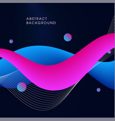 abstract modern fluid background vector image