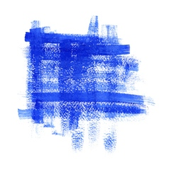 blue paint abstract background vector image