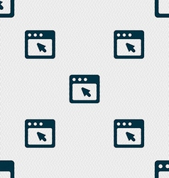 dialog box icon sign Seamless pattern with vector image