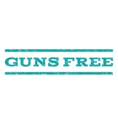 Guns Free Watermark Stamp vector image