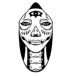 Hood Women vector image