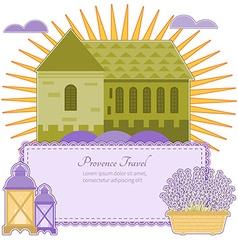 Invitation Provence vector
