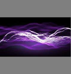 Music background glitch network electro vector