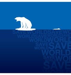 Polar bear 3 vector