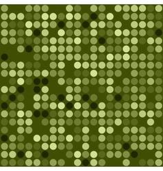seamless green mosaic pattern Eps10 vector image