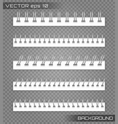 set spiral binder vector image