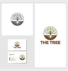 tree icon design template vector image