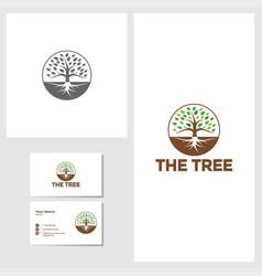 tree icon design template vector image