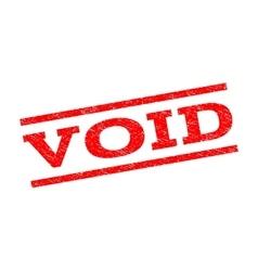 Void Watermark Stamp vector