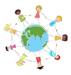 global children image vector image vector image