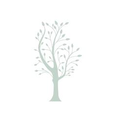 gray tree vector image vector image
