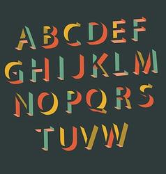 Alphabet - letters vector image