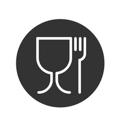 safely food vector image