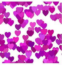 Seamless valentines day background pattern - from vector