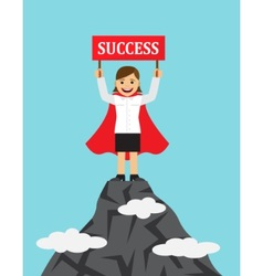 successful women in business vector image