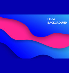 vertical banners with 3d abstract blue background vector image