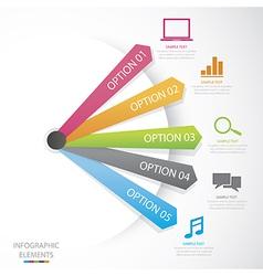 Diagram Social Media vector image vector image