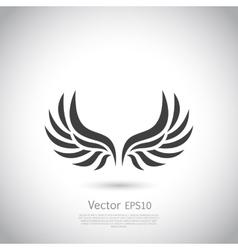 Wing icon vector image vector image