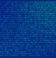 Binary computer code abstract technology vector