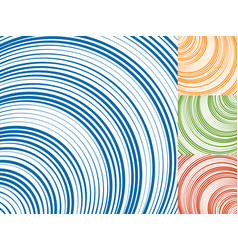 Concentric circlesconcentric rings abstract vector