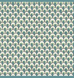 Doodle pattern like fish scale vector
