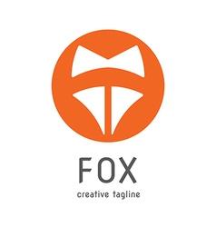 Fox creative logo vector