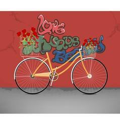 Love always beautiful vector image
