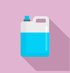 Pool chlorine canister icon flat style vector