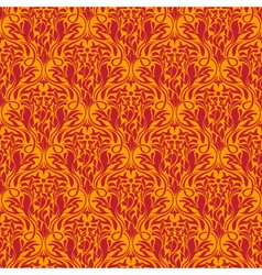 red seamless wallpaper pattern vector image
