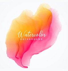 abstract watercolor bright stain texture vector image vector image