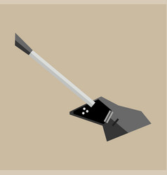 beautiful modern electric guitar jazz instrument vector image vector image