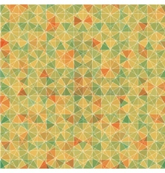 Abstract seamless background of hexagons vector image vector image