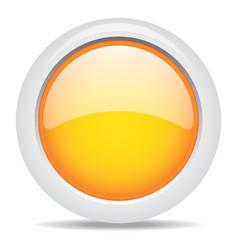 popular orange color web button 3d vector image