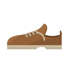 shoes casual male icon vector image