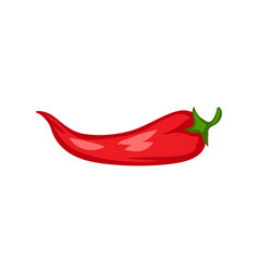 cartoon ripe chili pepper vector image