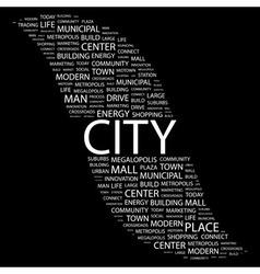 CITY vector