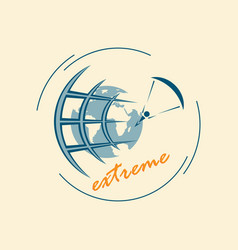 extreme sports world views vector image